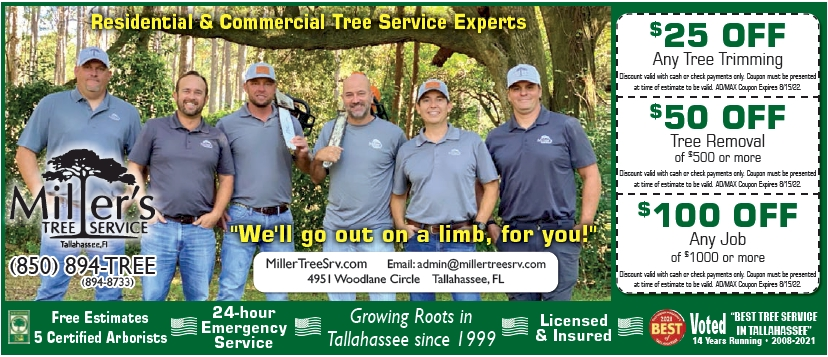 Millers Tree Service Coupons